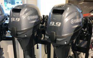 2 st nya Yamaha F9.9 -15 med elstart